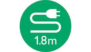 Cable de alimentación de 1,8 m