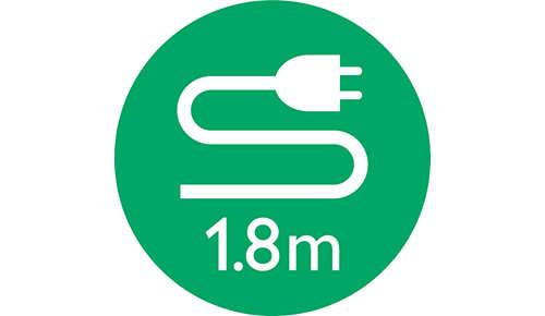 Cable de alimentación de 1,8m