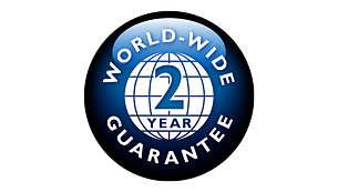 Dois anos de garantia