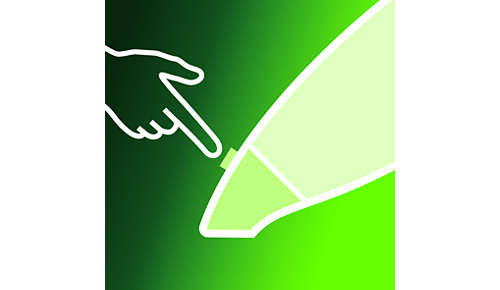 Eenvoudig los te klikken mondstuk om het apparaat eenvoudig te legen