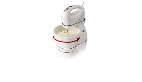 3 l rotating bowl
