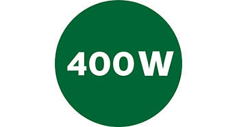 Leistungsstarker 400Watt-Motor