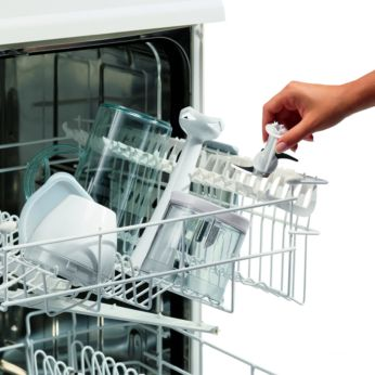 Dishwasher proof shaft and accessories