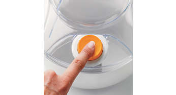 One touch (dis)assembly with Click&Go button