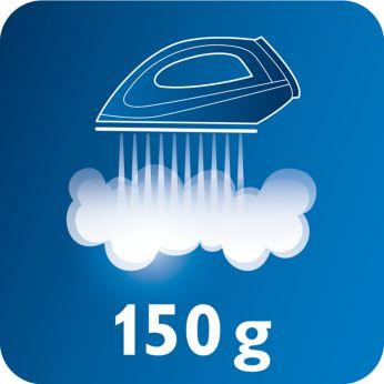 Паровой удар 150г для легкого разглаживания неподатливых складок