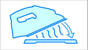 Heat-resistant mat: to safely place your hot iron on