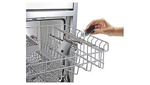 Mit einem Klick abnehmbare Düse, spülmaschinengeeignet