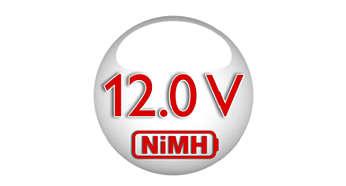 Экологически чистый аккумулятор NiMh, долгий срок службы