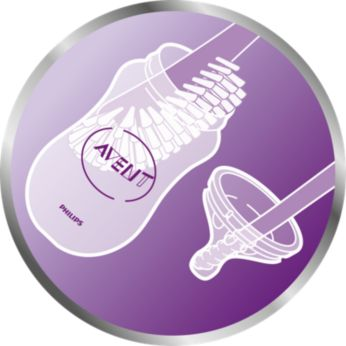 Curved brush head for easy cleaning