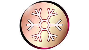 Hideglevegő-beállítás a kíméletes szárításhoz