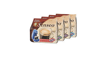 Large coffee pod variety to accomodate choice