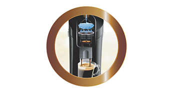 Uniek koffiezetsysteem voor een optimale smaak