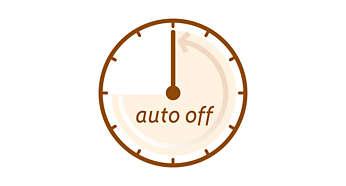 Automatische uitschakeling om energie te besparen