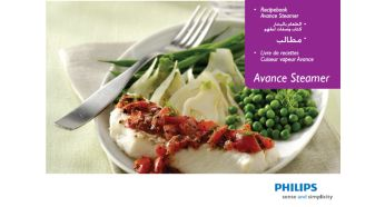 Recipe booklet - Philips Avance Collection Steamer