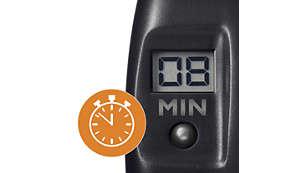 O timer digital ajuda no preparo das refeições com perfeição