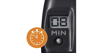 Timer digitale per tenere d'occhio il tempo di cottura perfetto degli alimenti