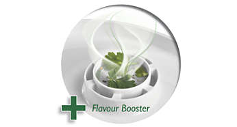 Flavour Booster improves taste with delicious herbs & spices