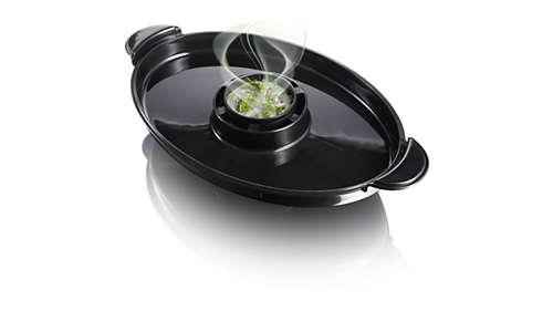 Der Aromaverstärker verbessert den Geschmack durch köstliche Kräuter und Gewürze