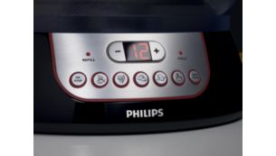 Optimal preset timings for fish, vegetables, rice and more
