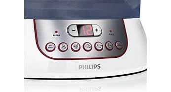 Optymalne, zaprogramowane ustawienia zegara m.in. dla jaj, warzyw i ryżu