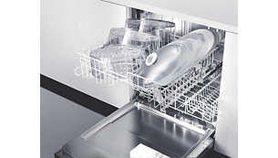 Dishwasher-safe parts make cleaning easy
