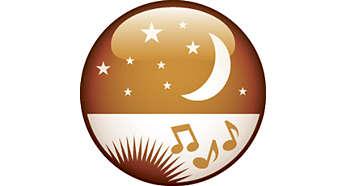 Une fois que vous vous êtes endormi, la lumière et la radio s'éteignent à l'heure que vous avez programmée.
