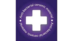Hypoallergeniska skivor med antibakteriell beläggning