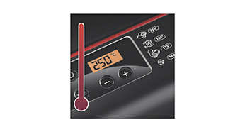 Digital temperature control