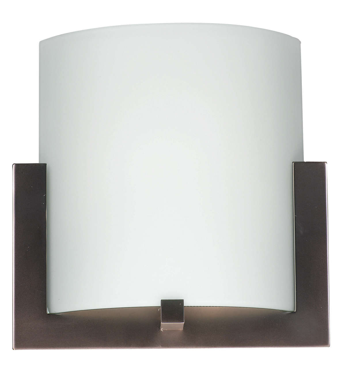 Bow LED wall sconce in Merlot Bronze finish