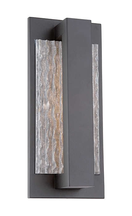 Intrinsic LED indoor/outdoor wall light