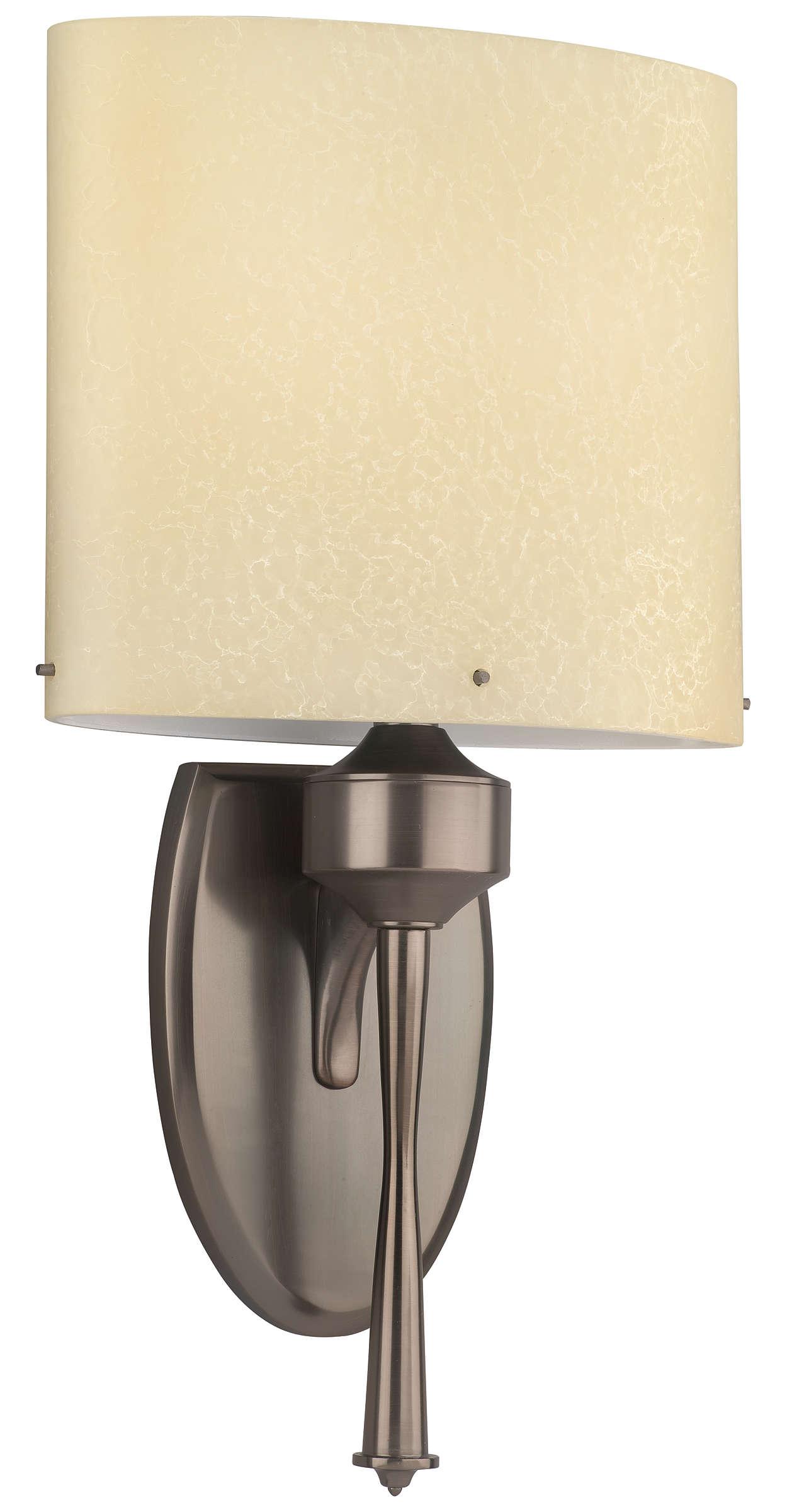 Tatem 2-light wall light