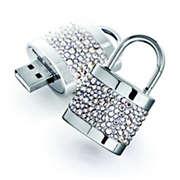 Swarovski Active Crystals Llave de memoria USB