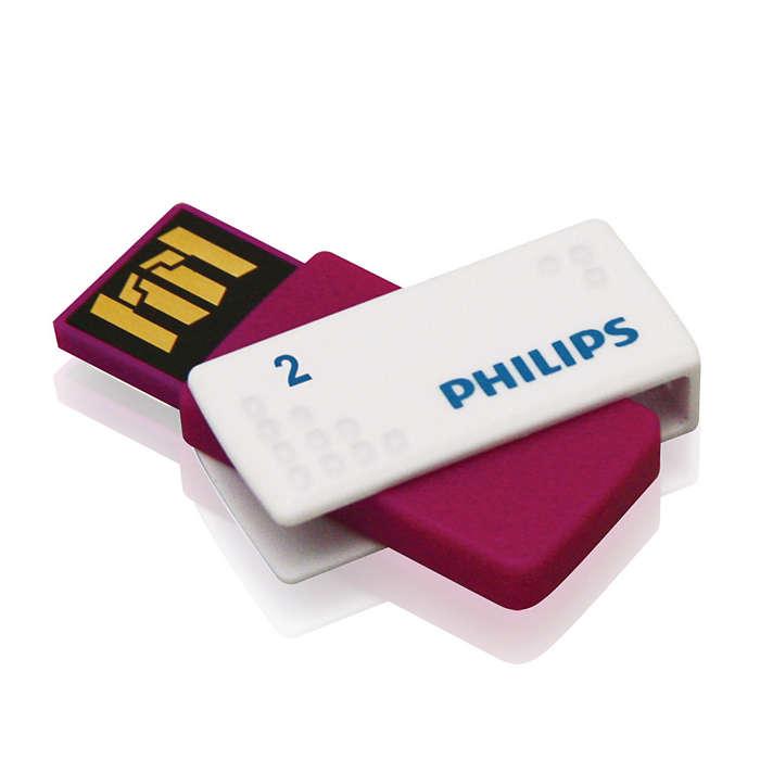 Fácil de usar — Plug and play!