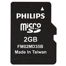 FM02MD35B/97  Tarjetas Micro SD