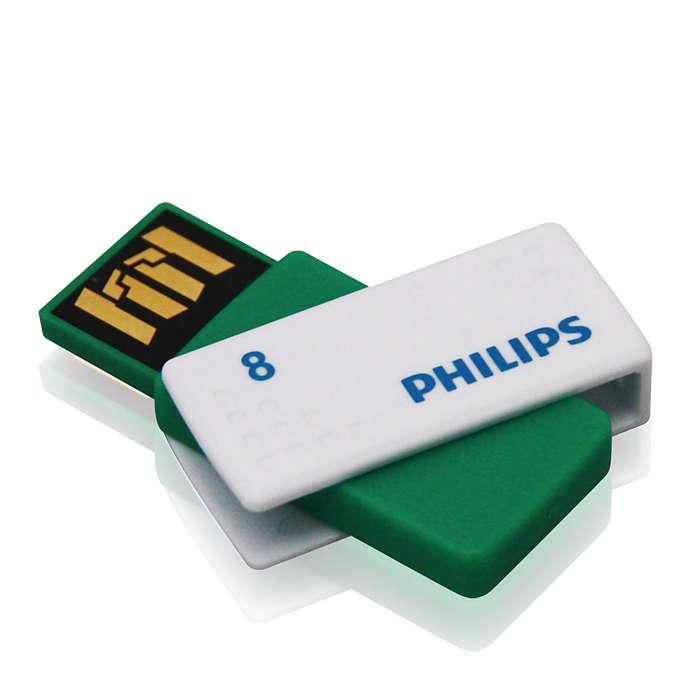Enkelt att använda, med plug and play-funktion!