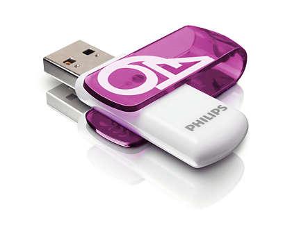 Eenvoudig te gebruiken via Plug & Play