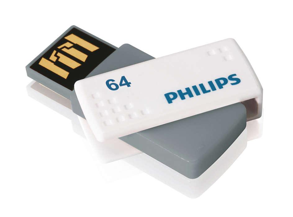 Fácil de usar y de conectar