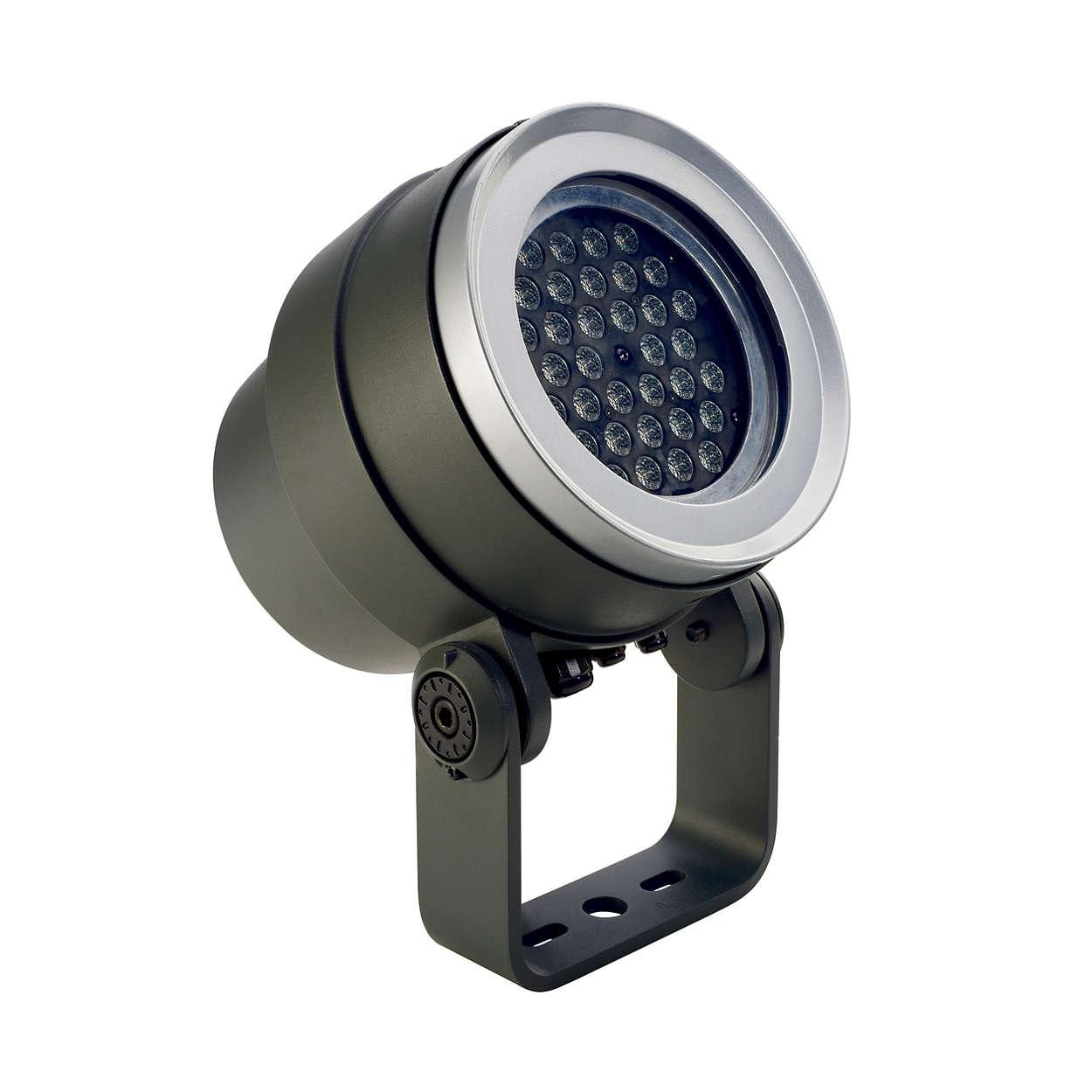 Decoflood² LED – verktygslåda för stadsbelysning