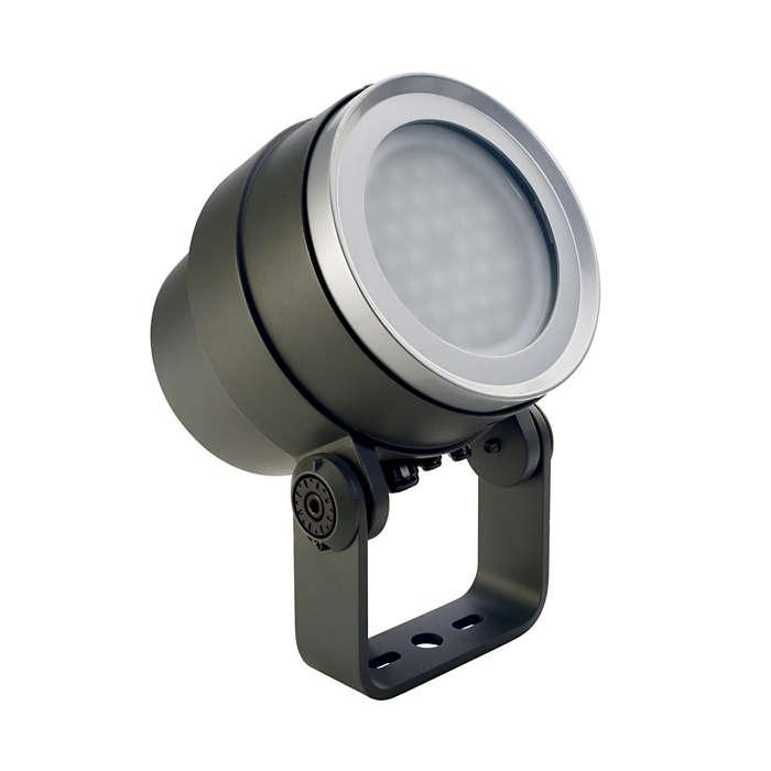 Decoflood² LED – λύση αστικού φωτισμού
