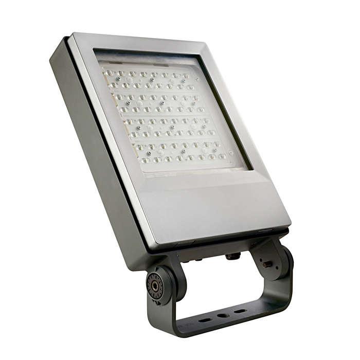 Decoflood² LED – casetă de instrumente pentru iluminat urban