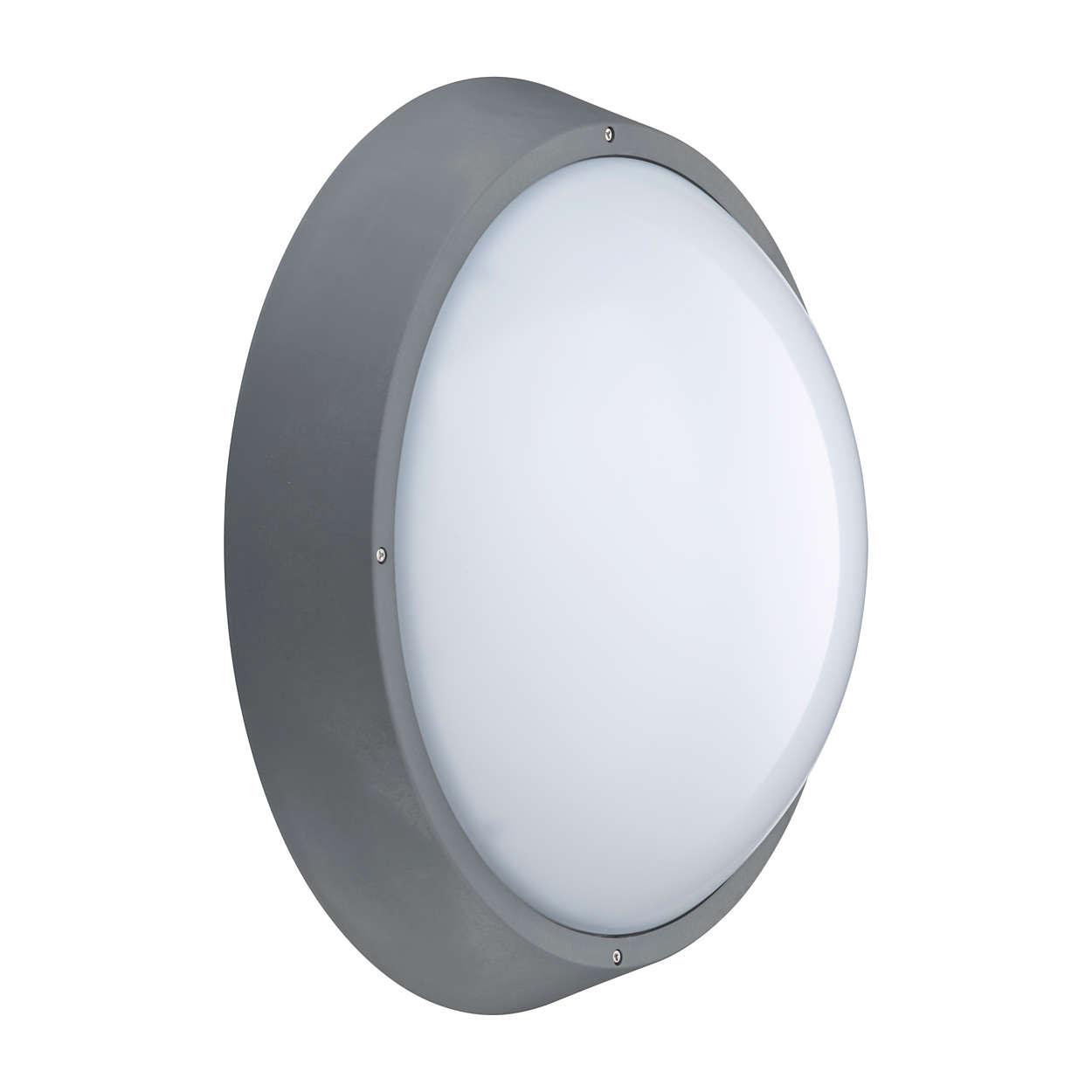 CoreLine Wand- en plafondarmatuur – de duidelijke keuze voor LED's
