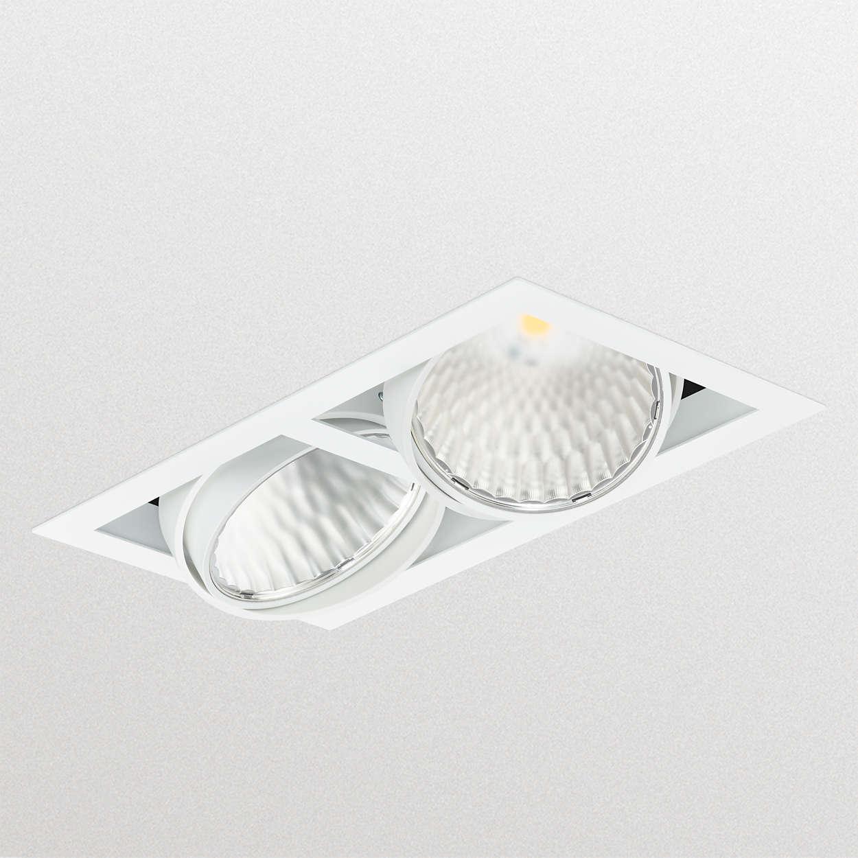 Solución modularideal para sustitución de luminarias con CDM
