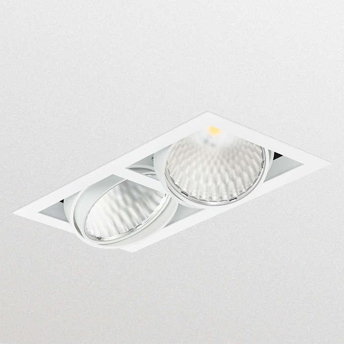 Superior retrofit gridlight solution