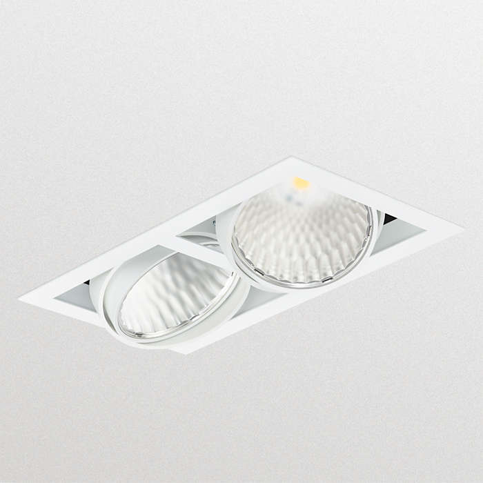 Superior retrofit gridlight solution