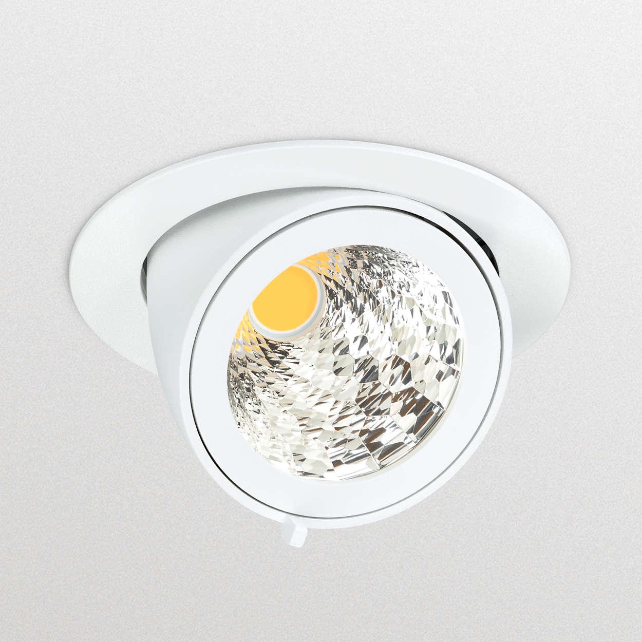 Высокоэффективный коленчатый прожектор LED