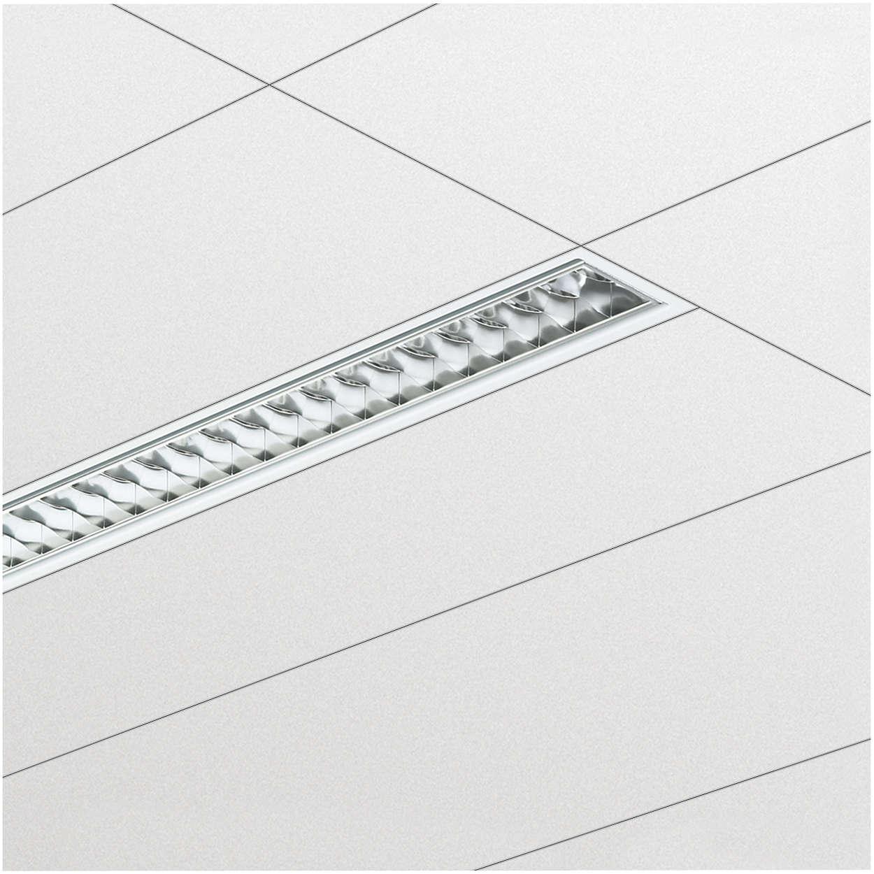 SmartForm – это новый стандарт офисного освещения встраиваемыми светильниками плоского профиля
