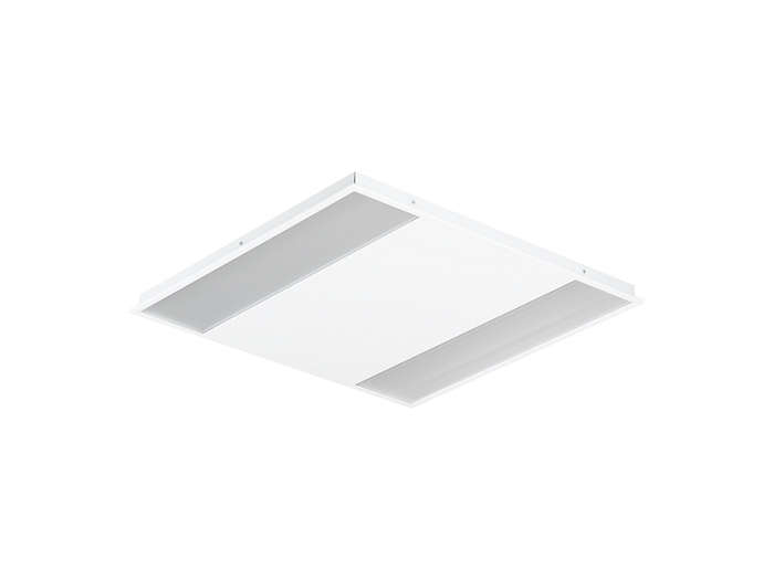 SmartForm LED BBS460 recessed luminaire with micro-lens optic in polycarbonate cover