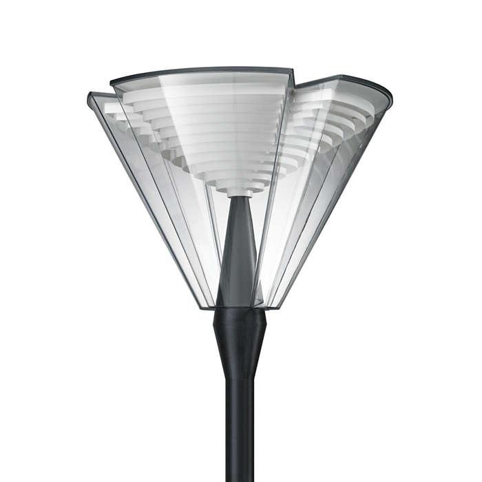 ParkView LED – en flexibel armatur för parker