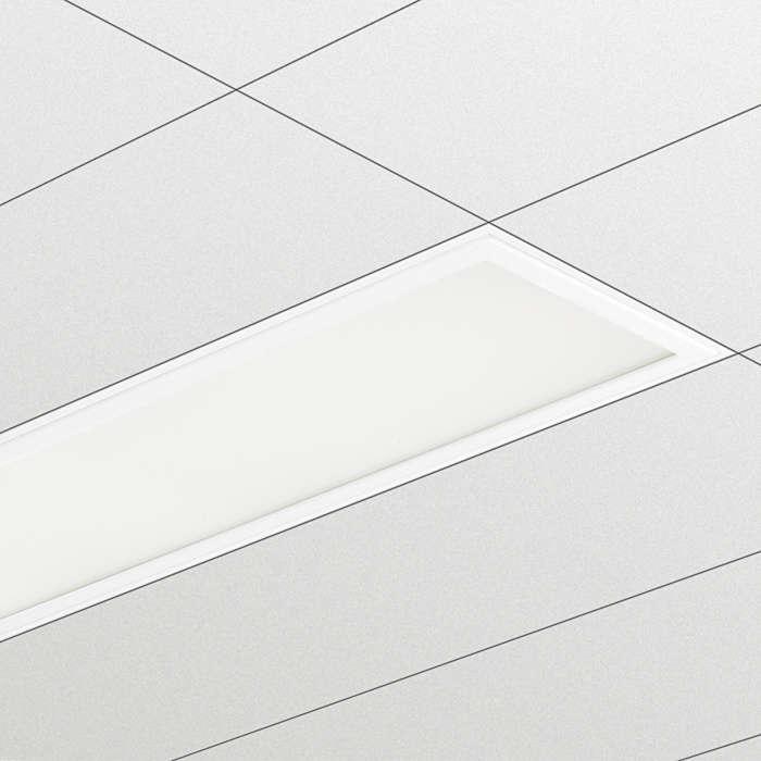 Luminaria para salas limpias CR200B, solución elegante y económica
