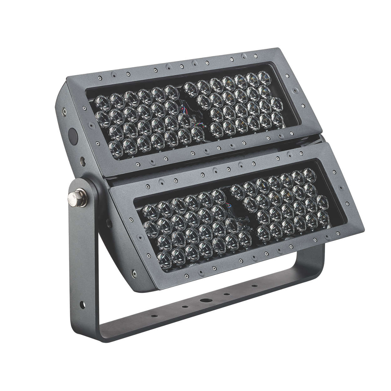 Next-generation LED floodlight for signature façades and structures